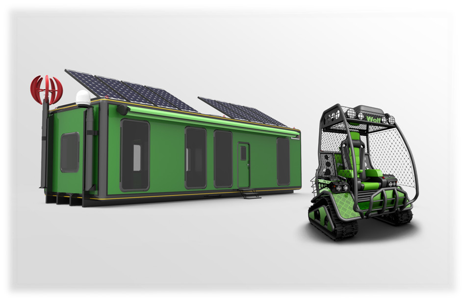 module and offroad machine